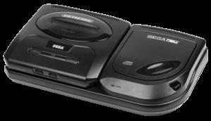 Sega CD Model 2 with Genesis Model 2, the most common setup