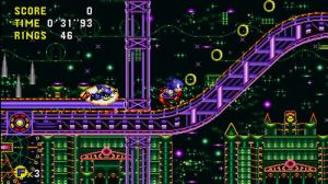 At one point you're forced to beat Metal Sonic in a race.