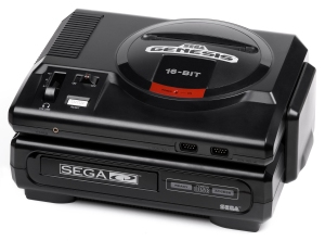 Sega CD Model 1 with Genesis model 1