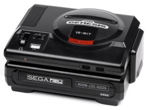 Sega CD Model 1 with Genesis model 1