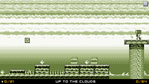 An example of a Gameboy level