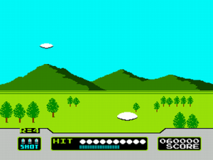 Skeet Shooting (Game C)
