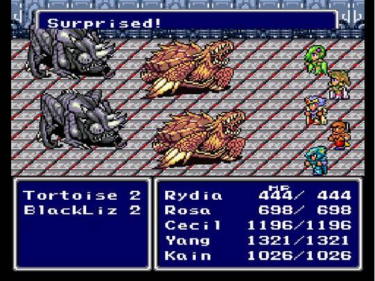 Review Final Fantasy Iv Gaming History 101