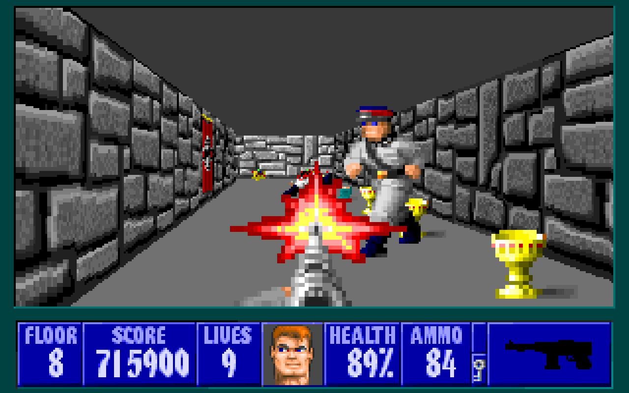 Looking Back At Wolfenstein 3D