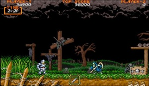 Ghouls'N Ghosts on Arcade