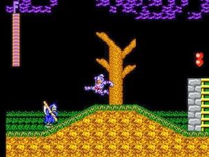 Ghouls'N Ghosts on Sega Master System
