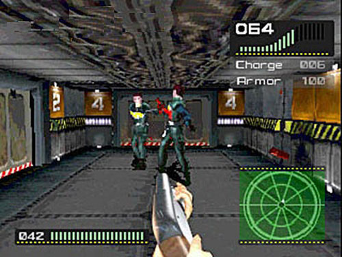 alien games ps1